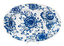 Singing Garden Oval Platter - Lomonosov Porcelain