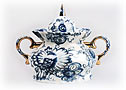 Singing Garden Sugar Bowl - Lomonosov Porcelain