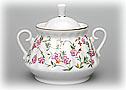 Victorian Pattern Sugar Bowl - Lomonosov Porcelain
