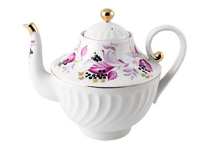 Wild Berry Tea Pot, Large