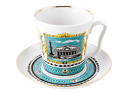 Leningrad Landscapes Mug and Saucer