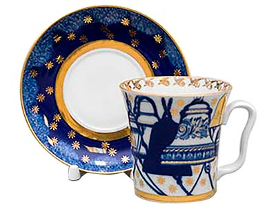 Russian Bells Mug and Saucer