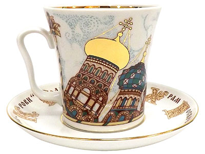 Church of the Saviour on the Spilled Blood Mug and Saucer