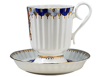 Mood Cup and Saucer, Bone