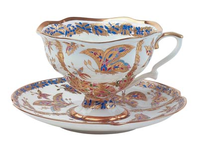 Fantastic Butterflies Bone China Cup and Saucer