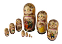 Kuzevanova's Russian Folk Doll 10pc./10.5