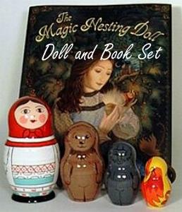 Buy The Magic Nesting Doll Book & Doll Set at GoldenCockerel.com