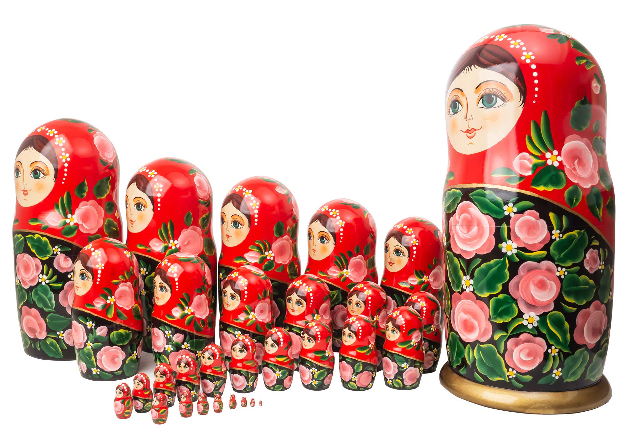 "Buy Art Nesting Doll 30pc./17.5"" at GoldenCockerel.com"
