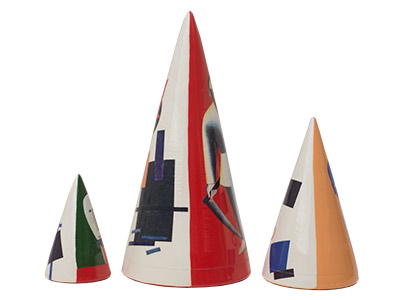 "Buy Malevich Nesting Cone 3pc./6"" at GoldenCockerel.com"