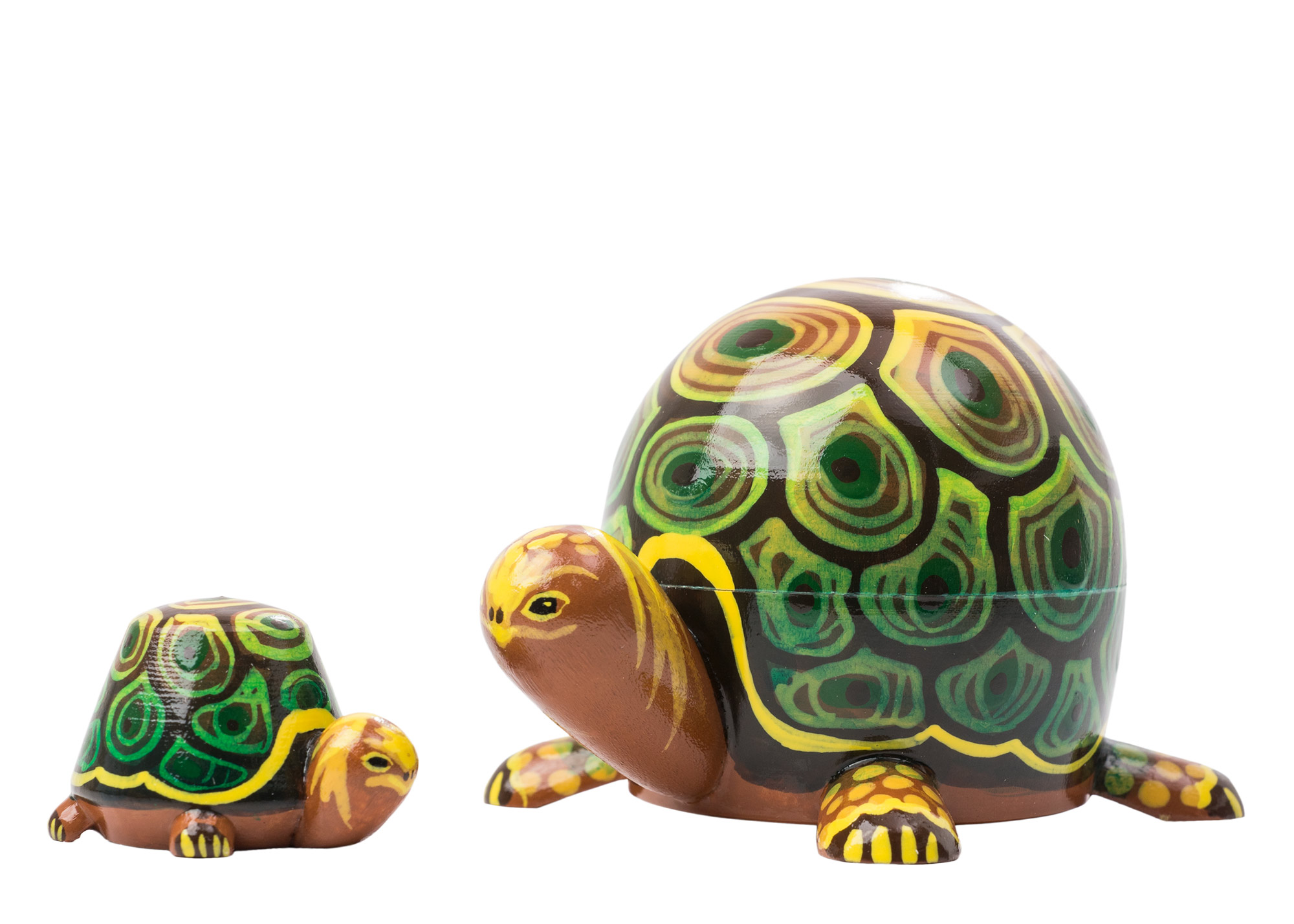 "Buy Realistic Turtle Nesting Doll 2pc./3"" at GoldenCockerel.com"