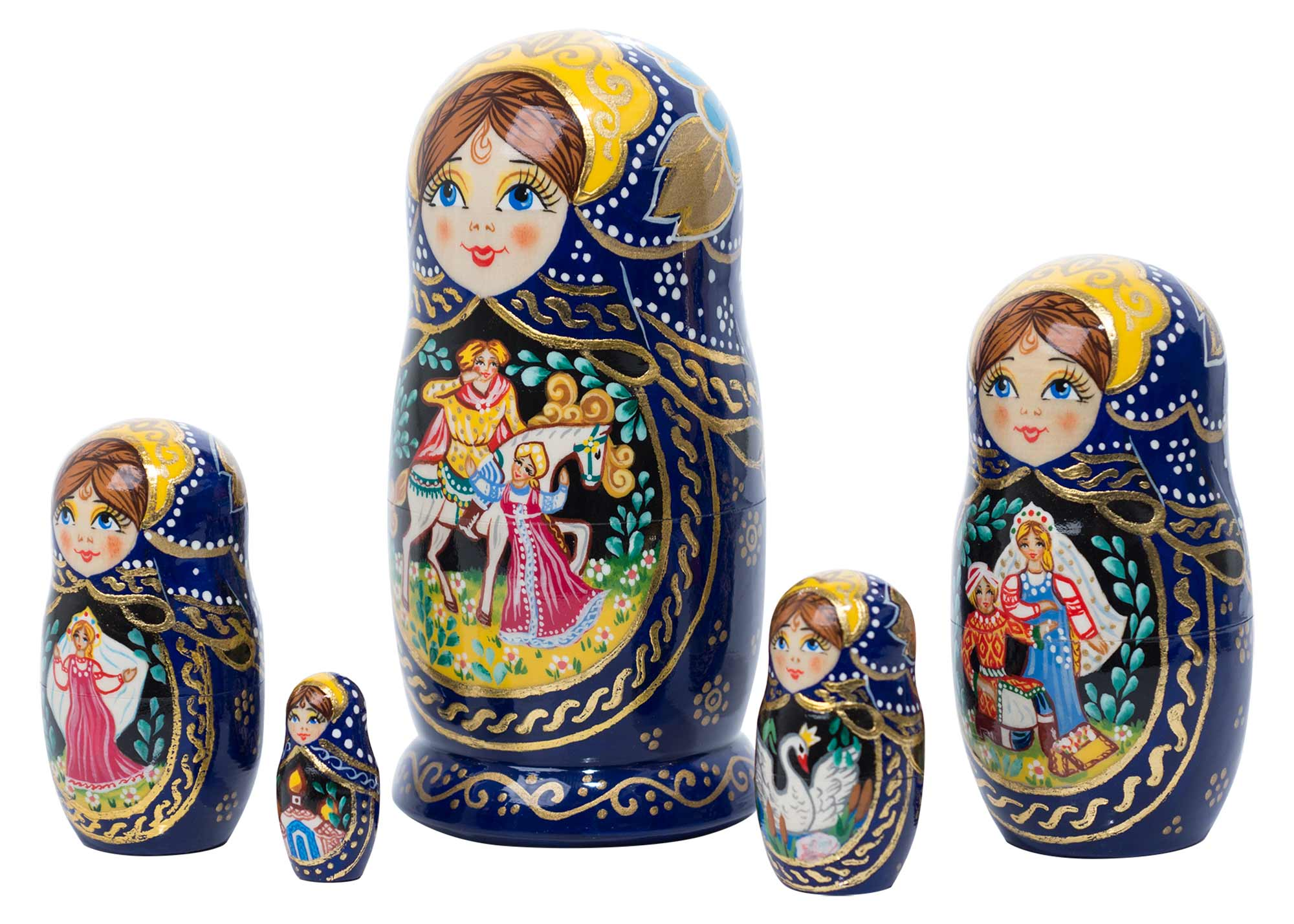 "Buy The Swan Princess Fairy Tale Doll 5pc./6""  at GoldenCockerel.com"