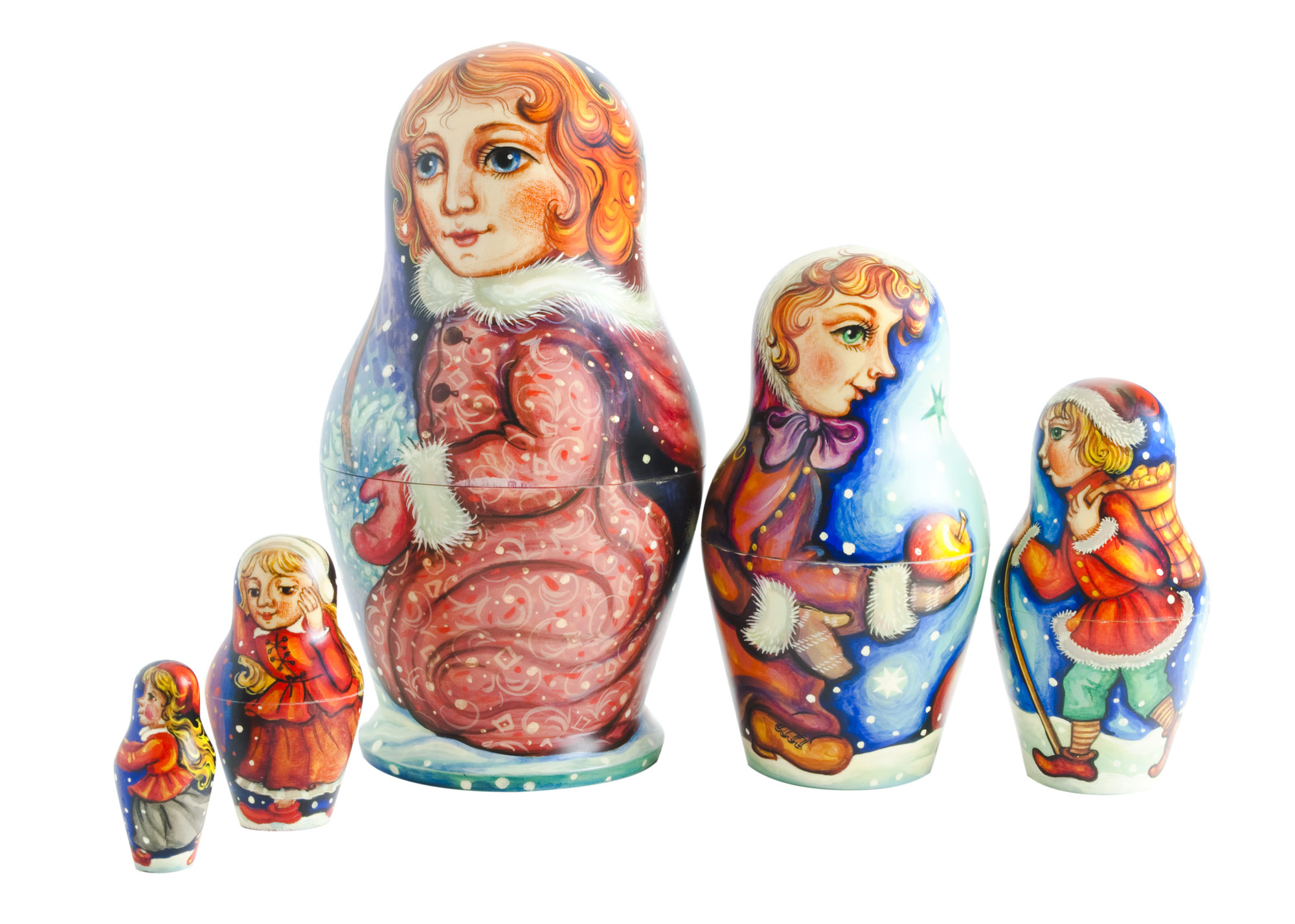"Buy Apples in the Snow Doll by Brudis 6.5"" at GoldenCockerel.com"