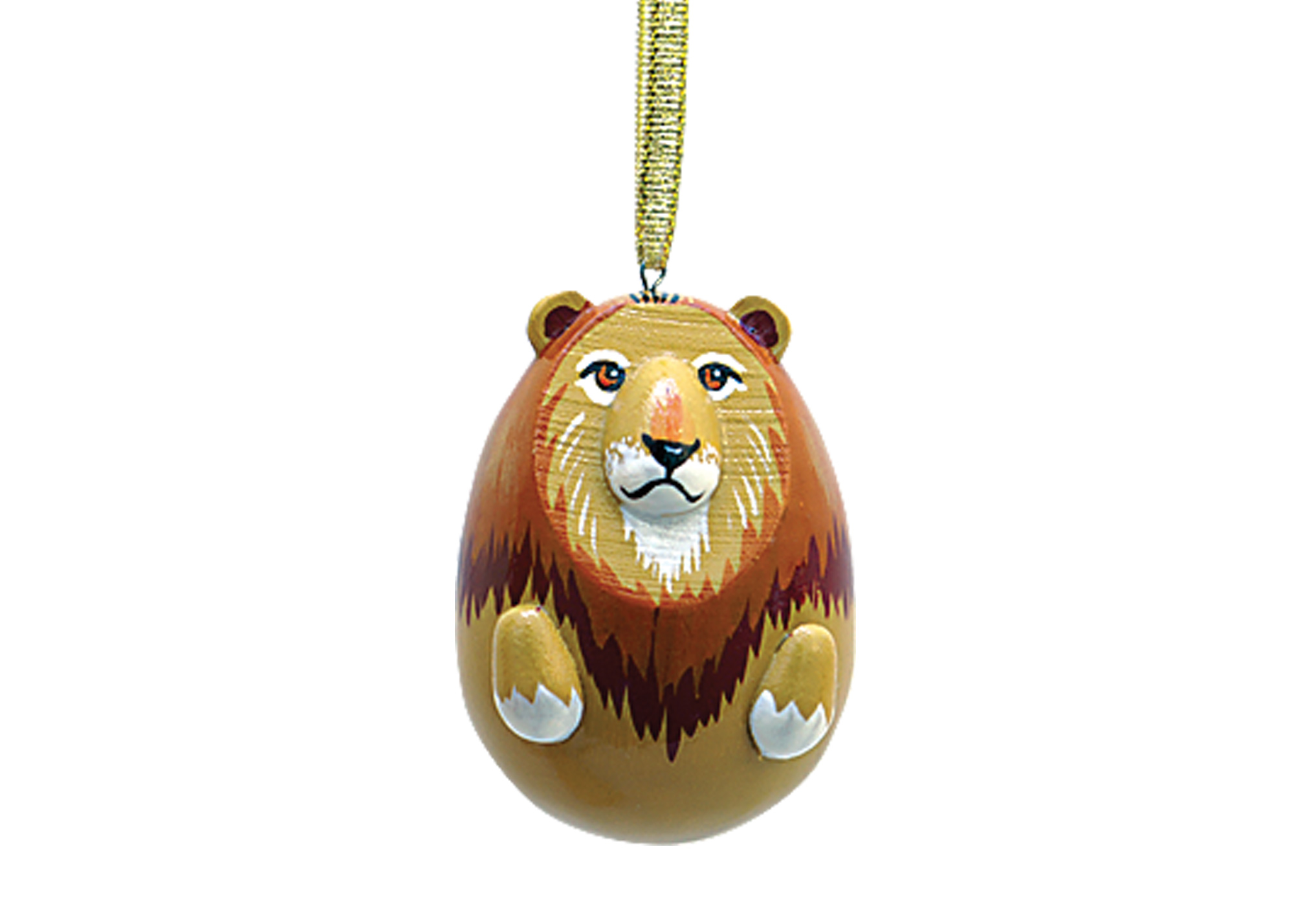"Buy Lion Ornament 2"" at GoldenCockerel.com"
