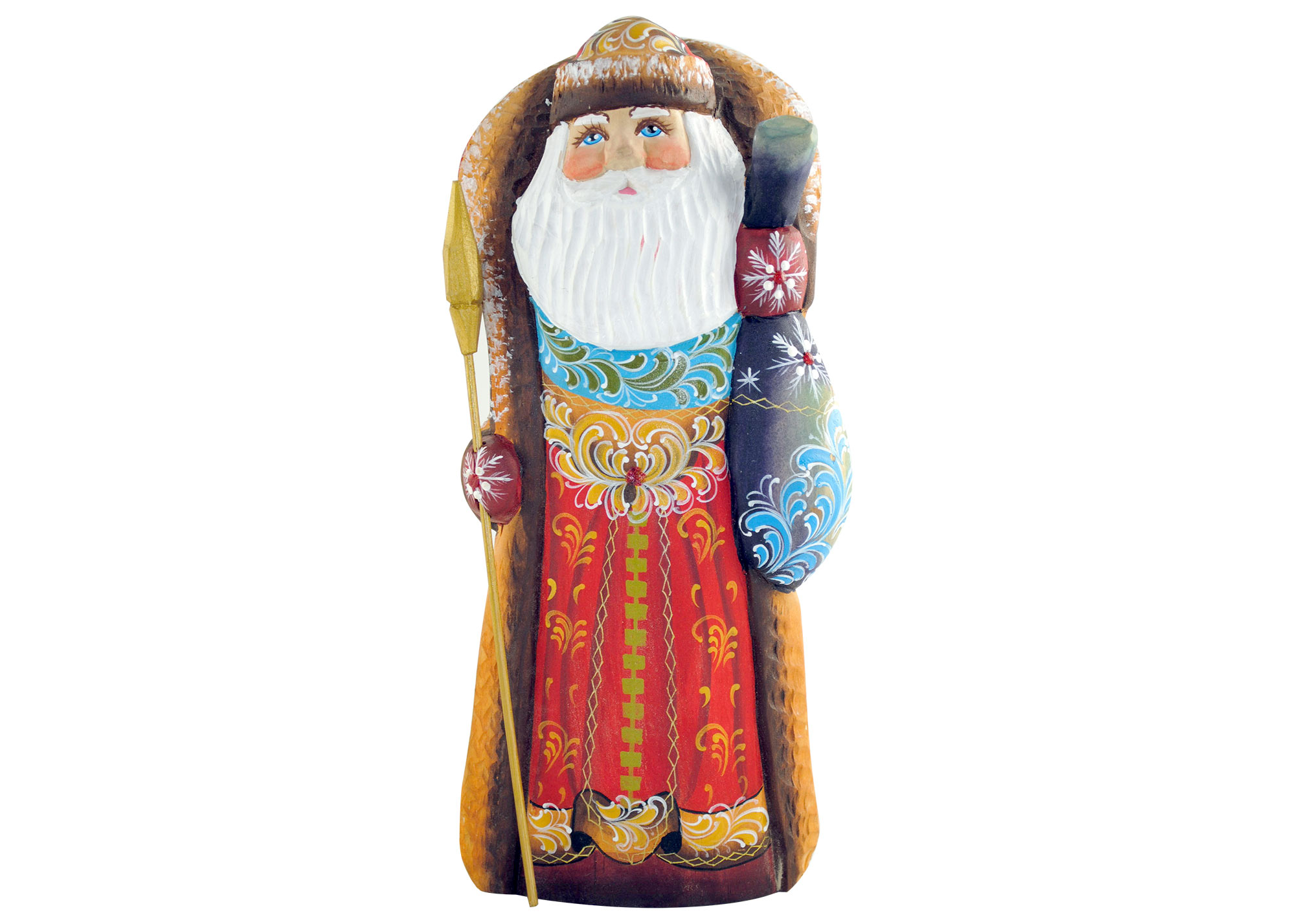 "Buy Decorative Santa w/ Toy Bag 10"" at GoldenCockerel.com"