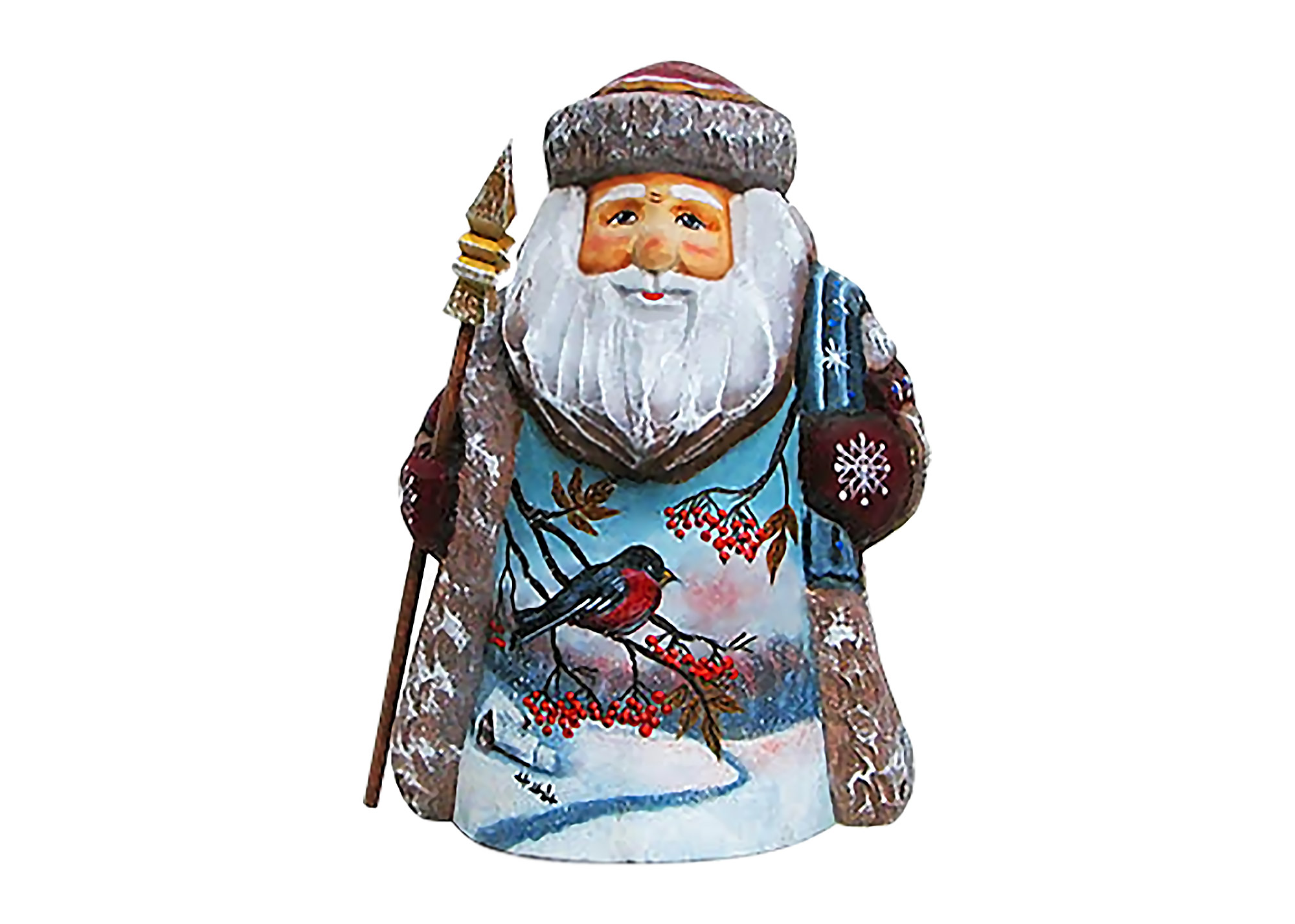 "Buy Santa with a Snow Bird 6"" at GoldenCockerel.com"