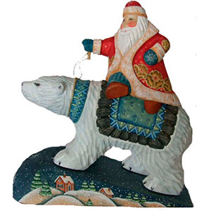 Buy Polar Bear Express Carving at GoldenCockerel.com