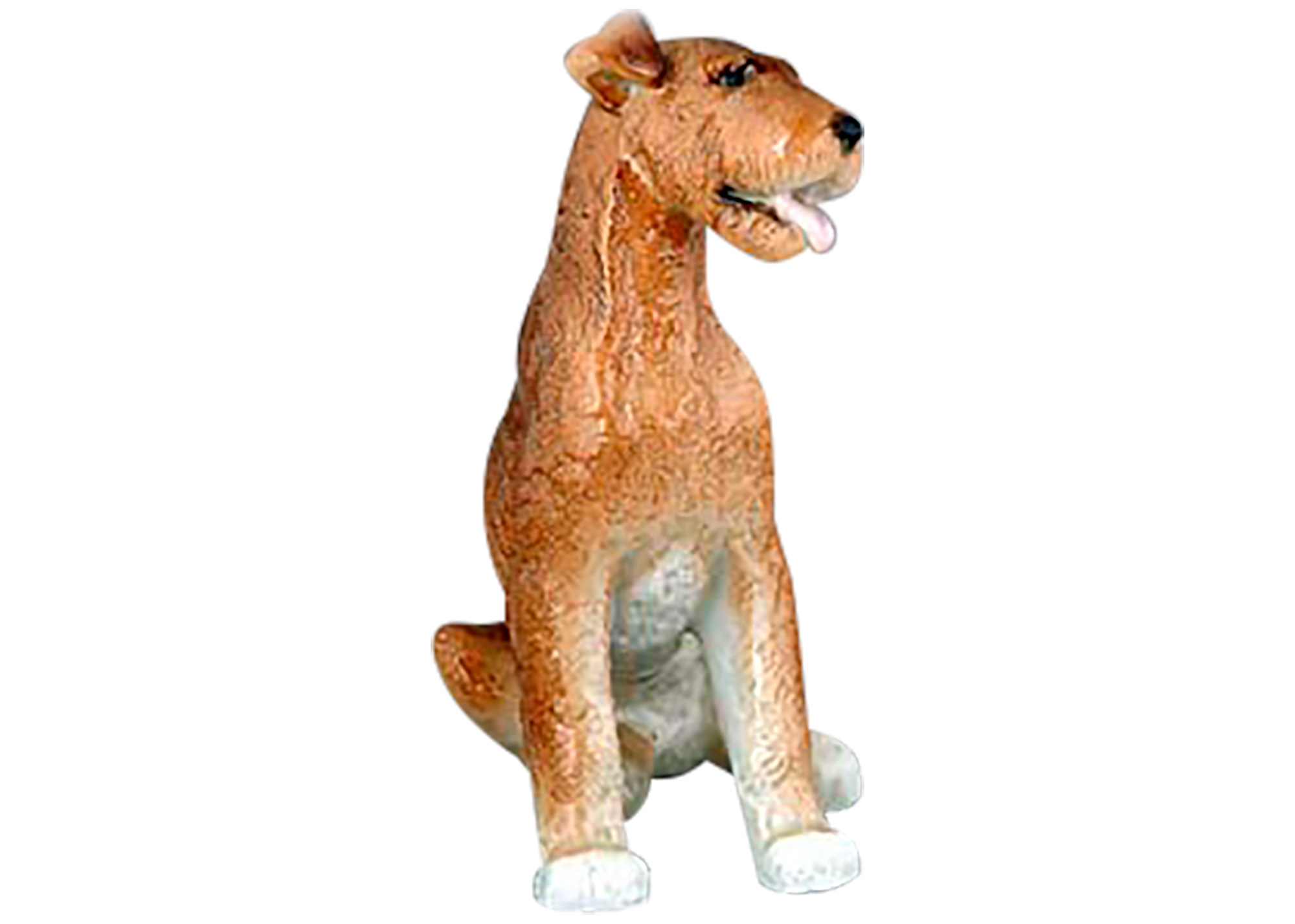 Buy Airdale Dog Figurine at GoldenCockerel.com