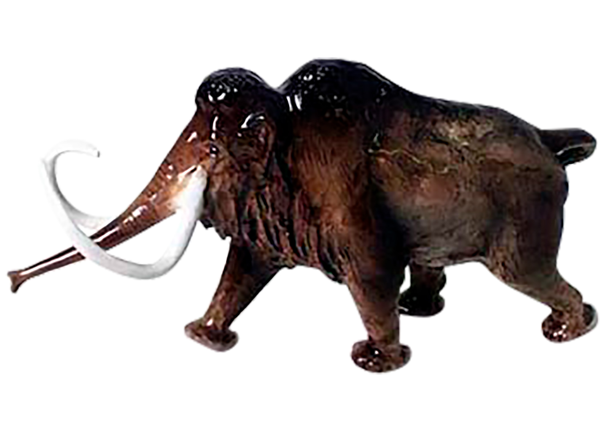 Buy Wooly Mammoth Figurine at GoldenCockerel.com