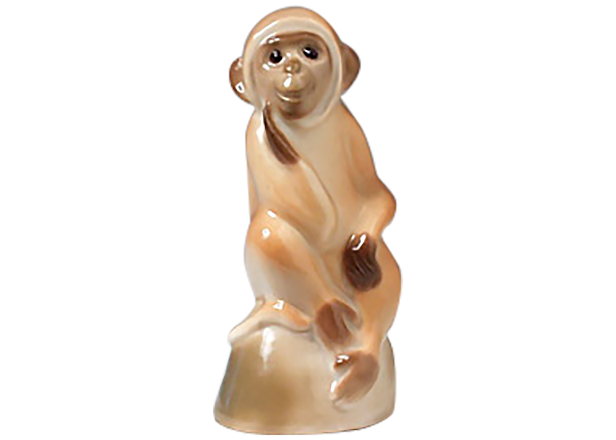 Buy Monkey on Stand Figurine at GoldenCockerel.com