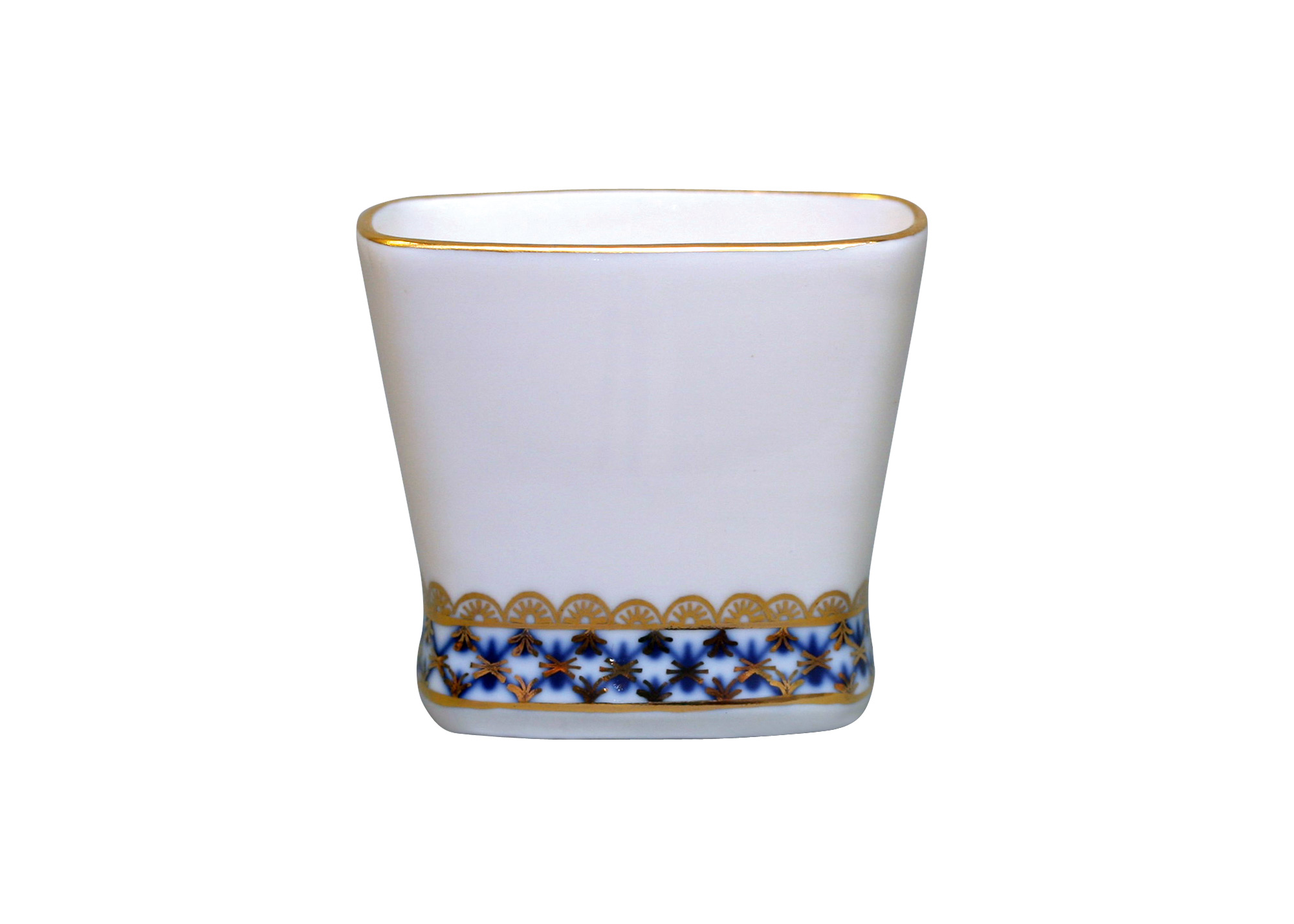 Buy Cobalt Net Toothpick Holder at GoldenCockerel.com