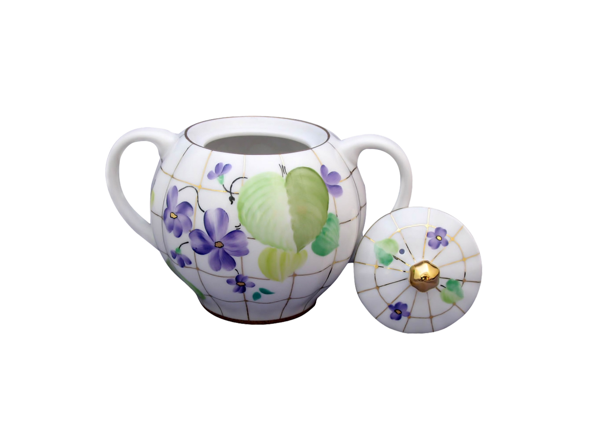 Buy Forest Violet Sugar Bowl at GoldenCockerel.com