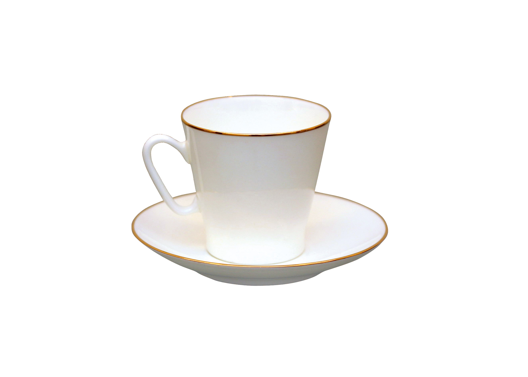 Buy Golden Edge C/S Bone China, BLACK COFFEE at GoldenCockerel.com