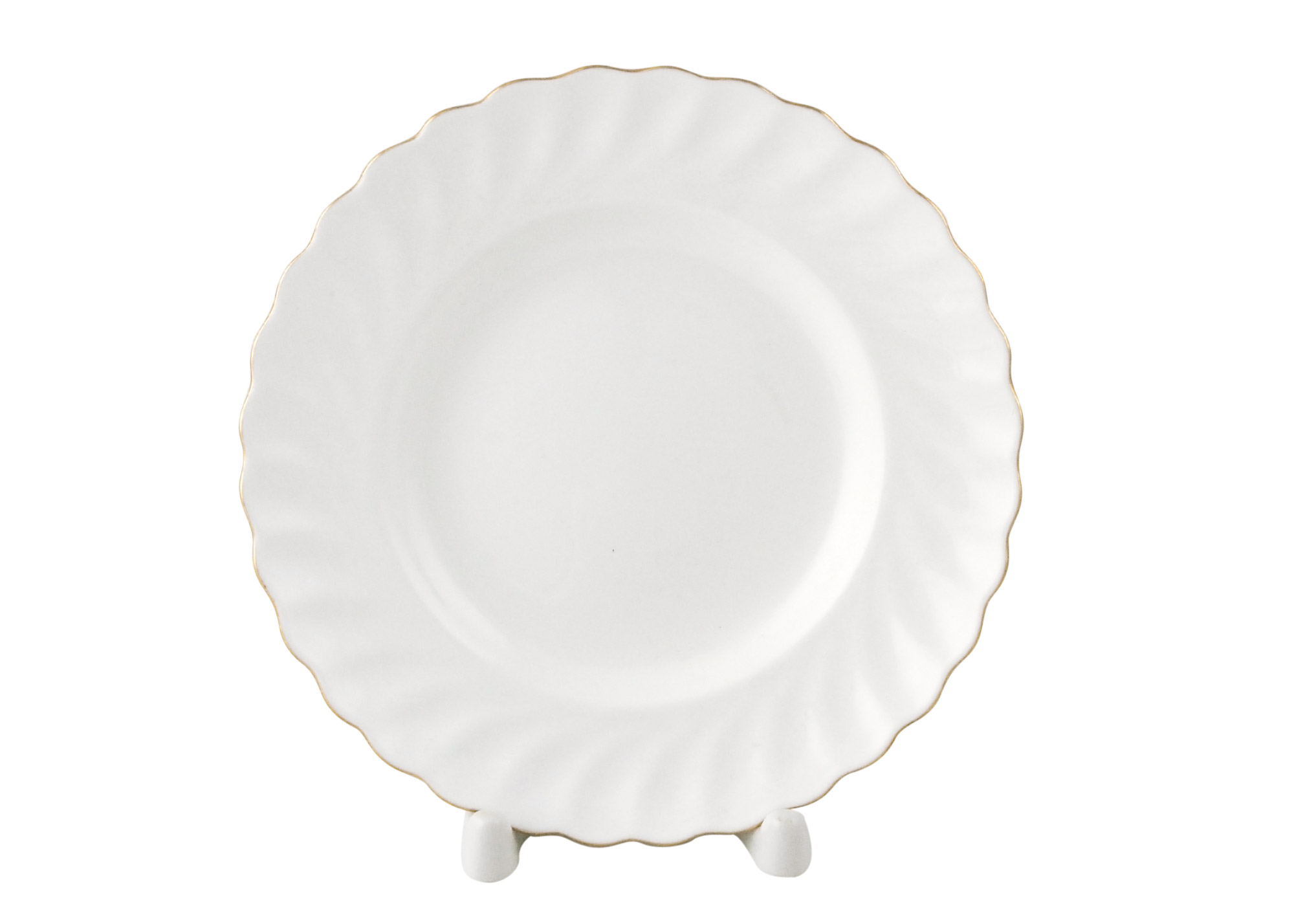 Buy Golden Edge Dessert Plate, Bone China TWIST at GoldenCockerel.com