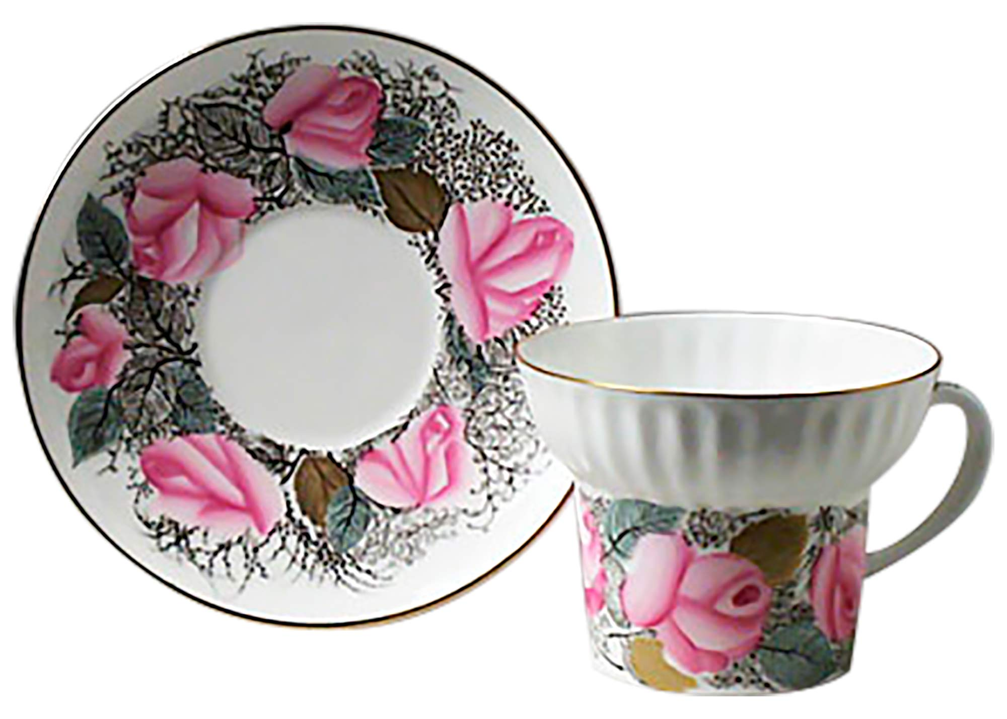 Buy Good Morning Tea Cup and Saucer at GoldenCockerel.com