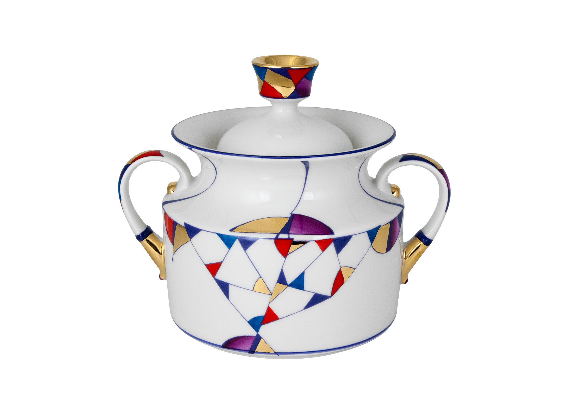 Buy Kaleidoscope Sugar Bowl at GoldenCockerel.com