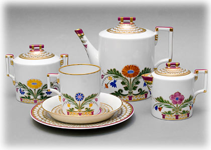 Moscow River Tea Set 21pc.