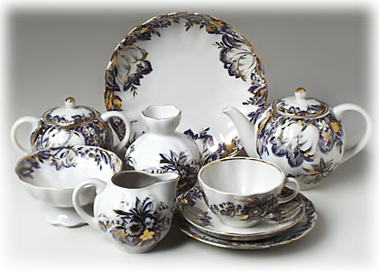 Buy Reflections Tea Set, 24 pcs at GoldenCockerel.com