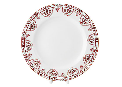 Terracotta Frieze Dinner Plate 10 3/4""