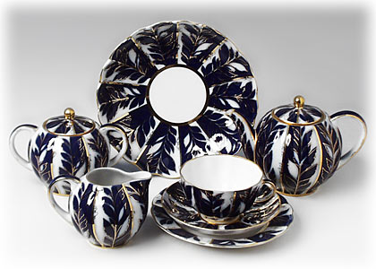 Buy Winter Evening Tea Set 22 pcs at GoldenCockerel.com
