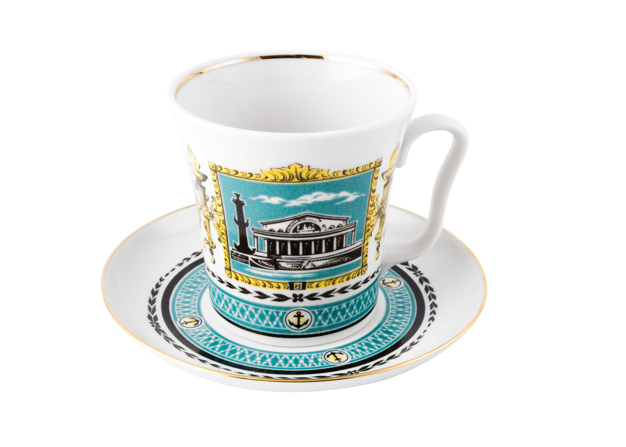 Buy Leningrad Landscapes Mug and Saucer at GoldenCockerel.com