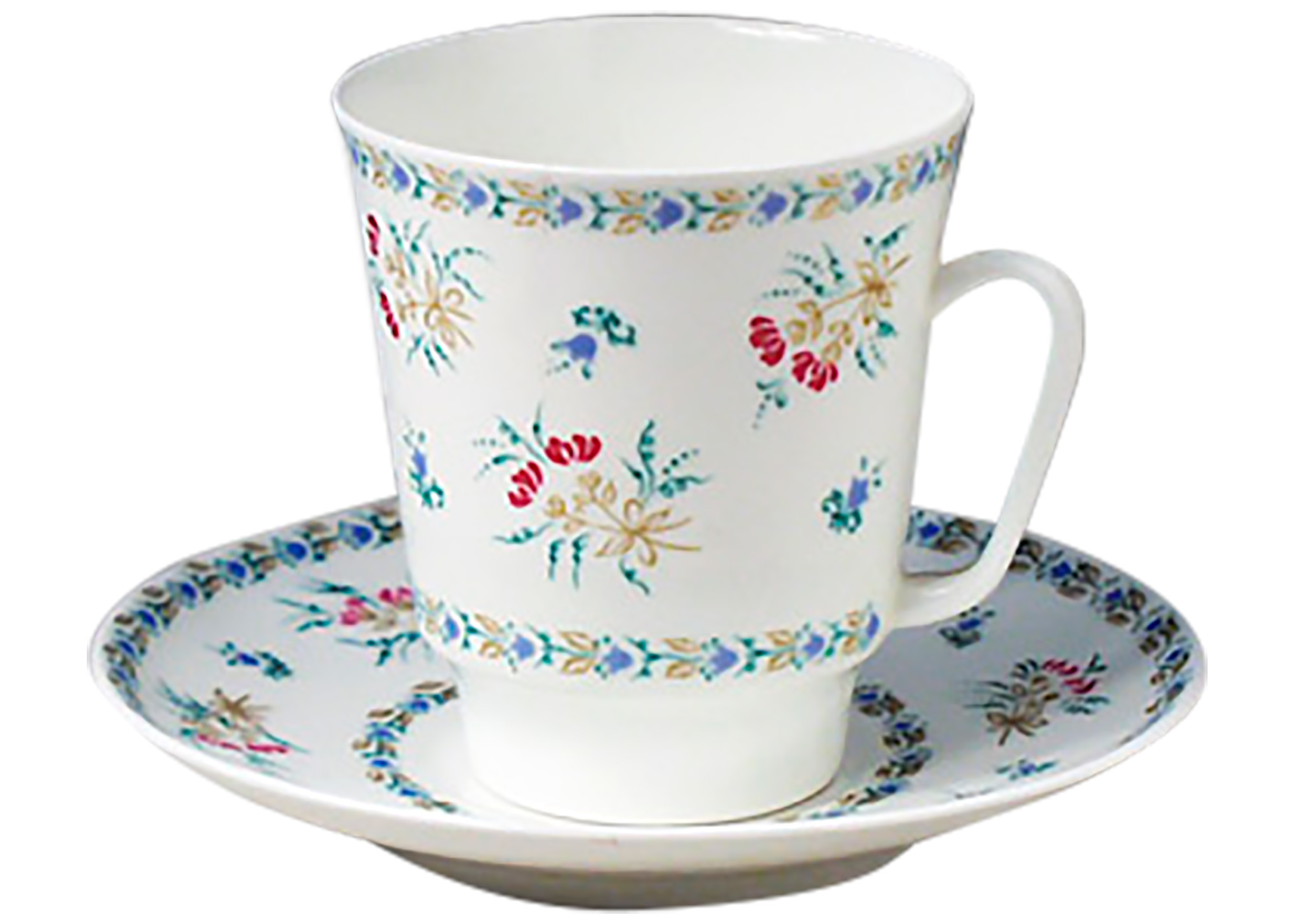 Buy Blue Bells Cup and Saucer, Bone China at GoldenCockerel.com